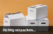 Verpackungstipps für den Transport